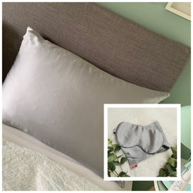 Mulberry Silk Eye Mask & Pillowcase Bundle