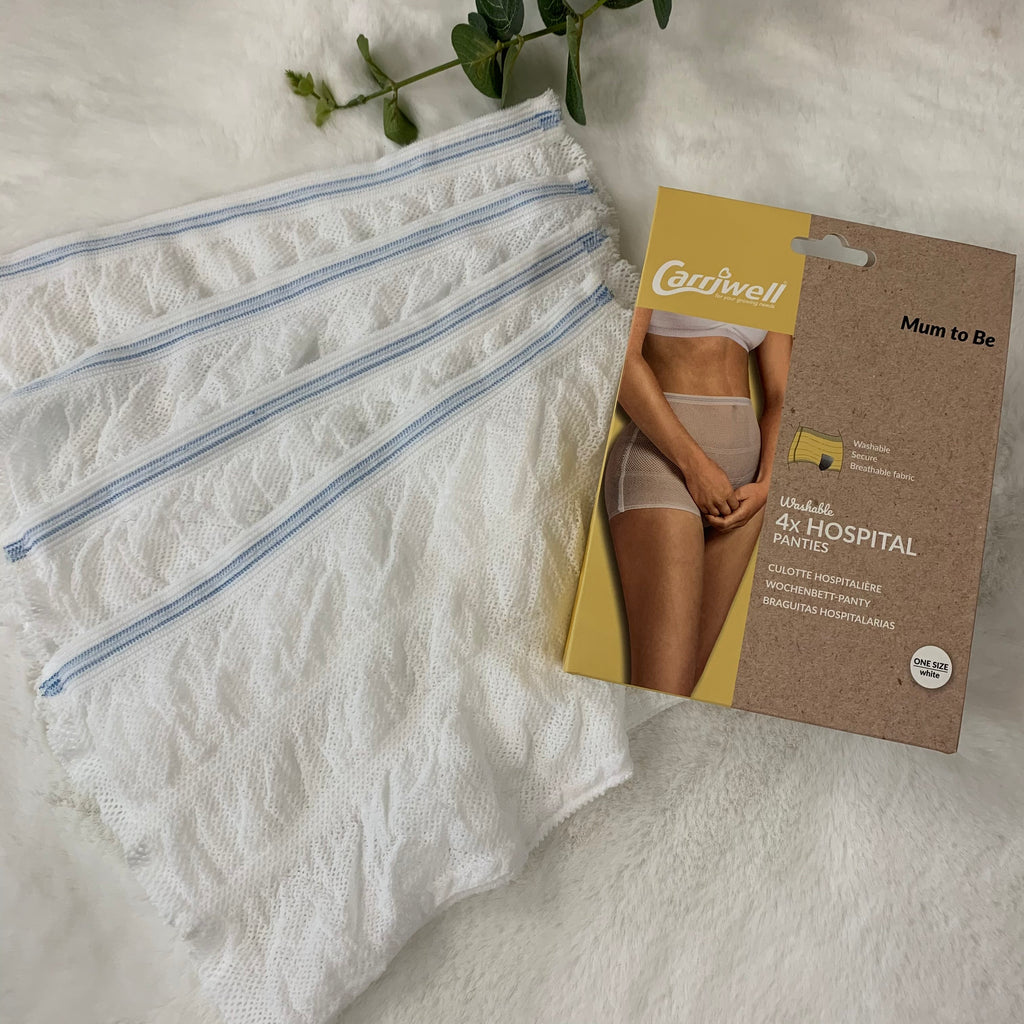 Carriwell Washable Hospital Panties (4 pack)