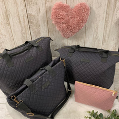 Dark Grey Signature Pre-Packed Maternity Hospital Bags