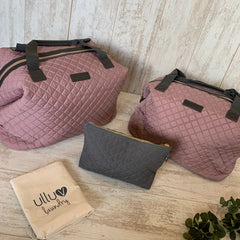 Dusty Pink Signature Pre-Packed Maternity Hospital Bags