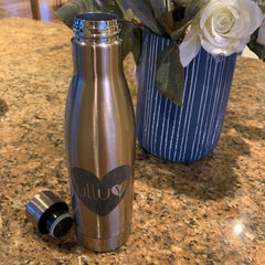 Ulluv Champagne Gold Stainless Steel Bottle