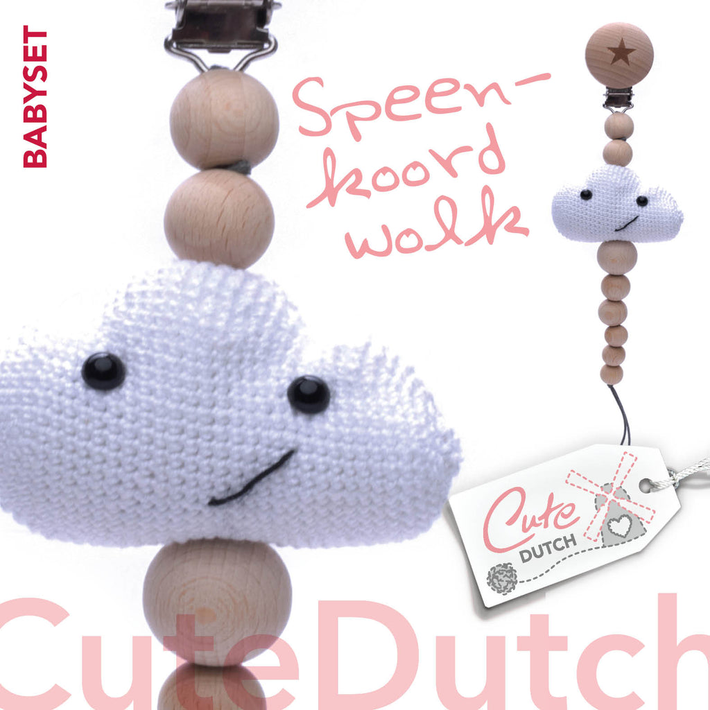 Speenkoord Wolk Cutedutch