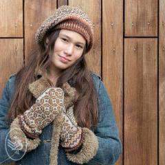 CuteDutch Breipakket: Tweed Wanten & Baret