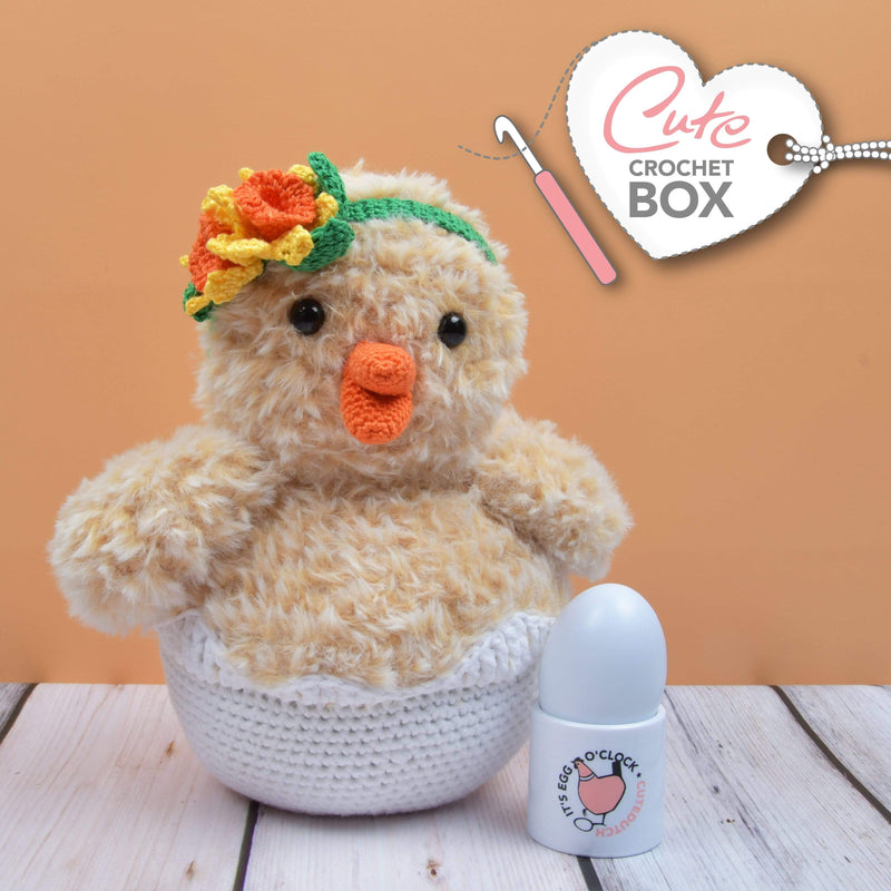 CuteDutch Cute Crochet Box nr. 10 - Kuiken Fien