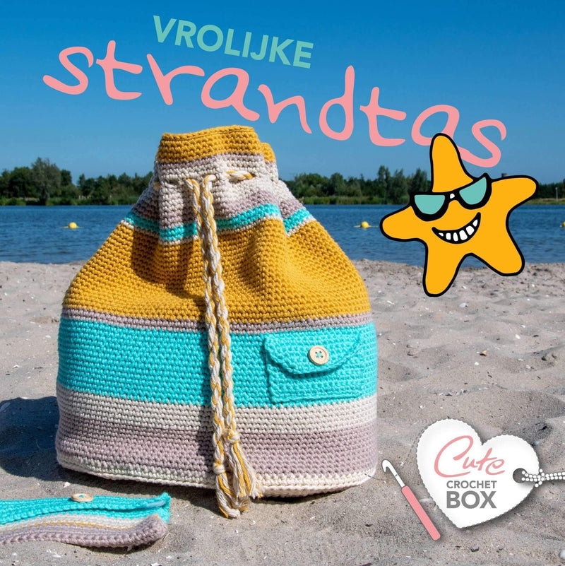 CuteDutch Cute Crochet Box nr. 2 - Vrolijke strandtas