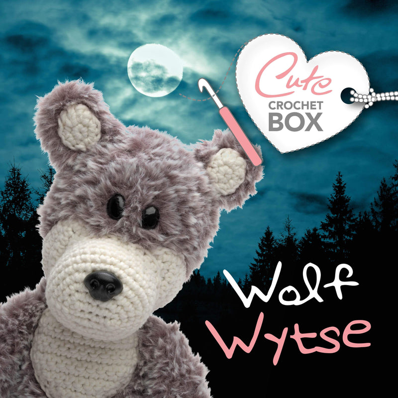 CuteDutch Cute Crochet Box nr. 7 - Wolf Wytse