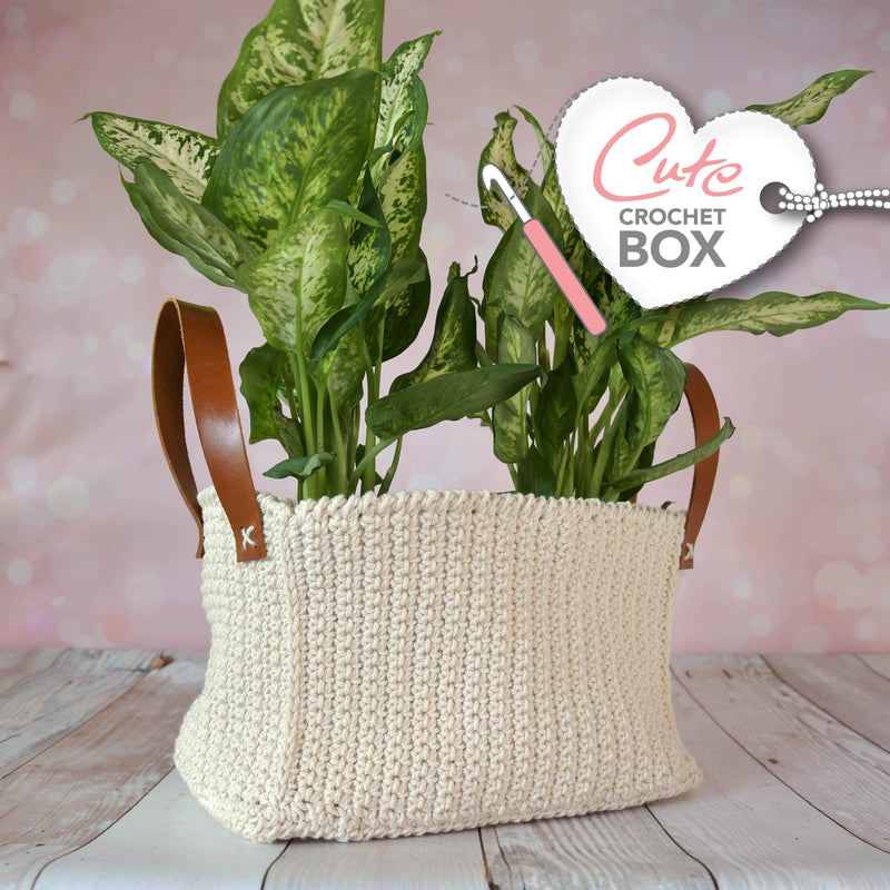 CuteDutch Cute Crochet Box nr. 9 - Plantenmand Jess