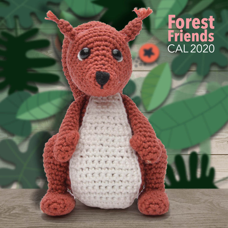 CuteDutch CuteDutch Amigurumi CAL2020 Forest Friends