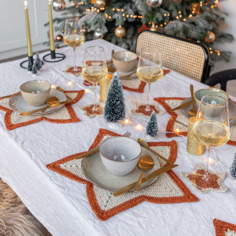 CuteDutch Haakpakket: A Starry Christmas Table