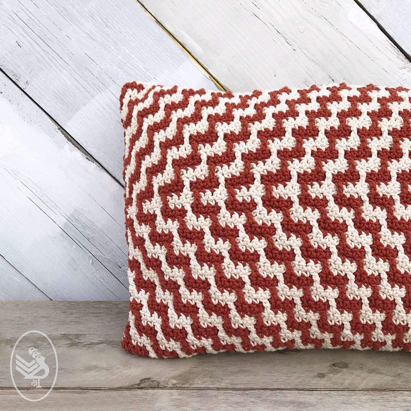 CuteDutch Haakpakket: Chevron kussen