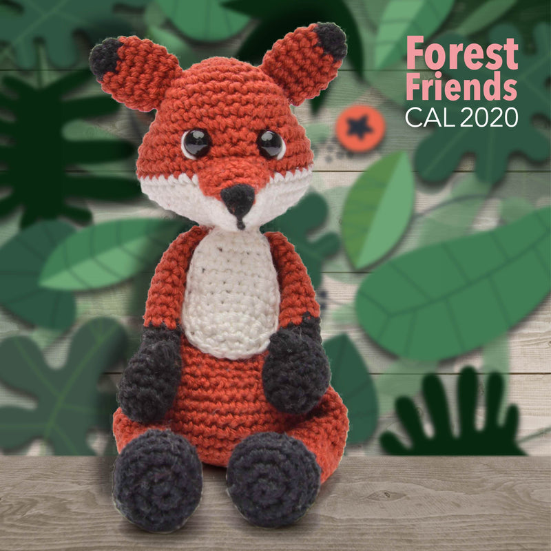 CuteDutch CuteDutch Amigurumi CAL2020 Forest Friends XL