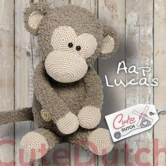 CuteDutch Haakpatroon PDF Haakpatroon Aap Lucas (download)