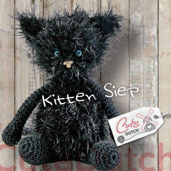 CuteDutch Haakpatroon PDF Haakpatroon Kitten Siep (download)