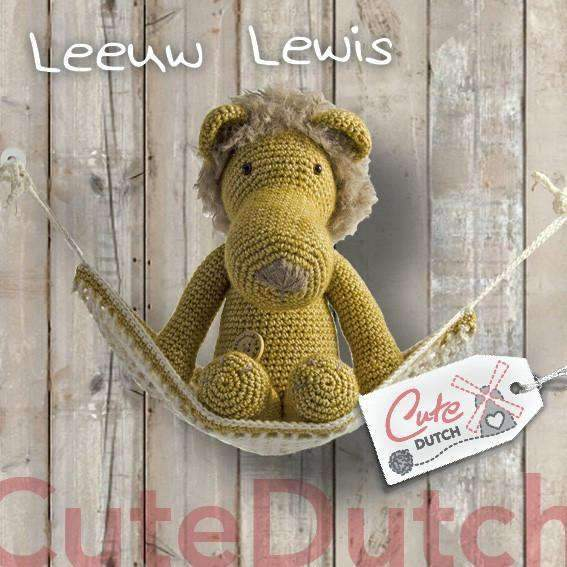 CuteDutch Haakpatroon PDF Haakpatroon Leeuw Lewis (download)