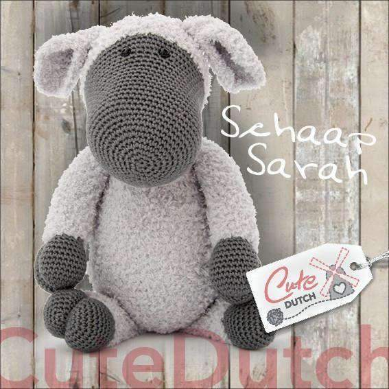 CuteDutch Haakpatroon PDF Haakpatroon Schaap Sarah (download)