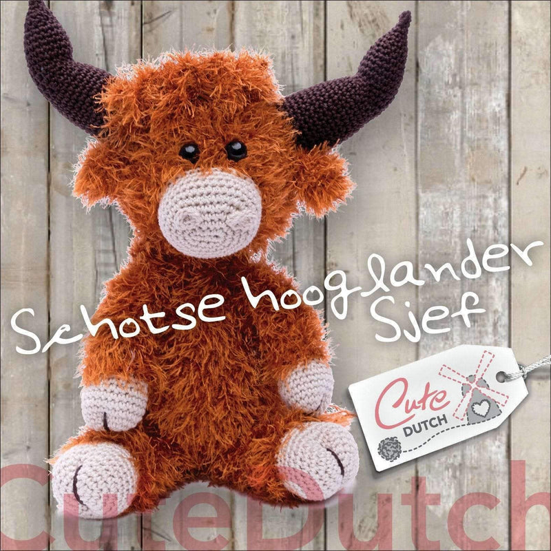 CuteDutch Haakpatroon Schotse hooglander Sjef (download)