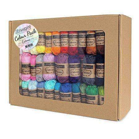 CuteDutch Scheepjes Catona 10 Colour Pack