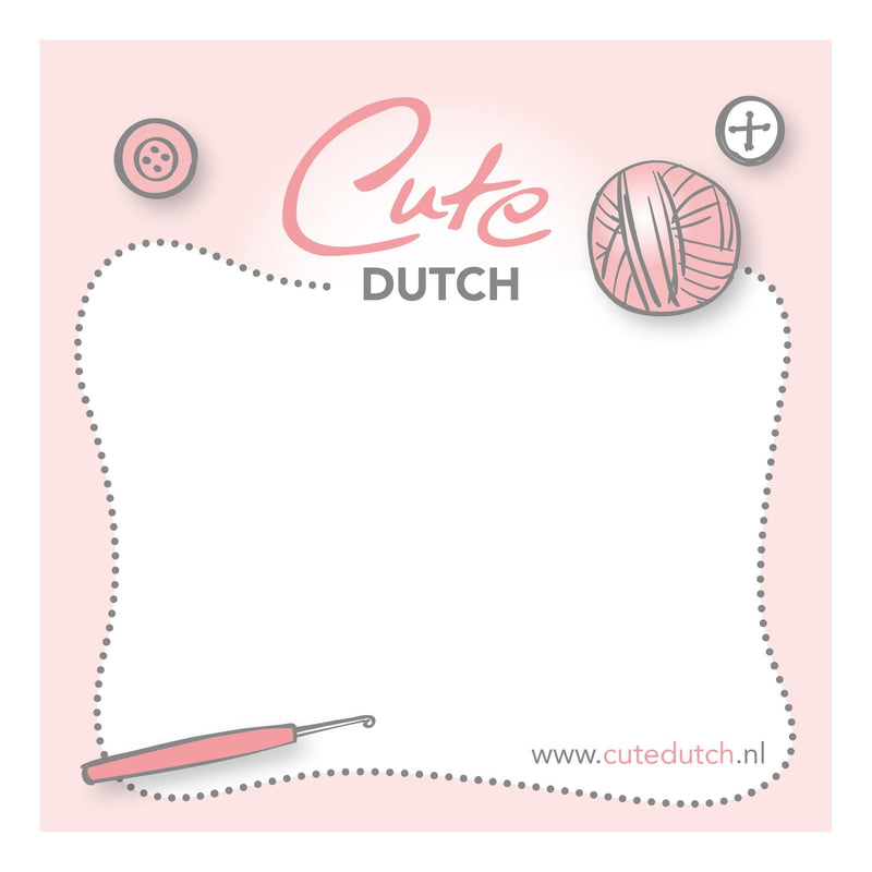 CuteDutch Stationary CuteDutch - Post-it