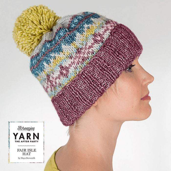 CuteDutch YARN The After Party NO 07 - Fair Isle Muts