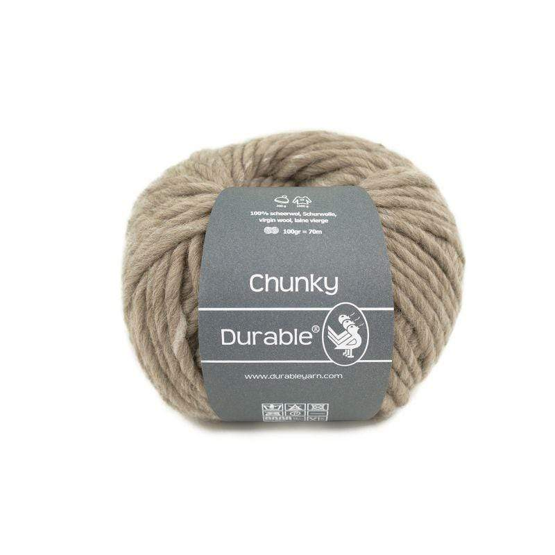 G Brouwer & Zn B.V. 326 Ivory Durable Chunky Wool