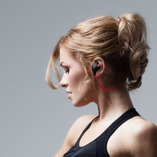 Laud Sports Wireless Headphones, Sweat proof In-Ear Earphones
