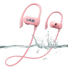 Laud Active Sport Water Resistant Bluetooth Earbuds for Gym, Workouts, Running