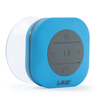 Portable Bluetooth Shower Speaker- IPX4 Waterproof, Built In Mic (Blue)