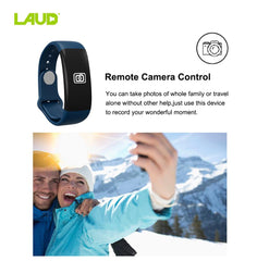 Laud Fitness Band Activity Tracker with Heart Rate Monitor