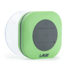 Portable Bluetooth Shower Speaker- IPX4 Waterproof, Built In Mic (Green)