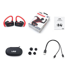 True Wireless Stereo Bluetooth Headphones Earphones Sweatproof In-Ear w/ Mic