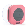 Portable Bluetooth Shower Speaker- IPX4 Waterproof, Built In Mic (Pink)