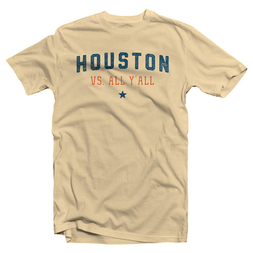 Houston Vs All Y'all - Cream *PRE-ORDER*