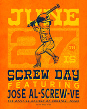 June 27th Screw Day Poster