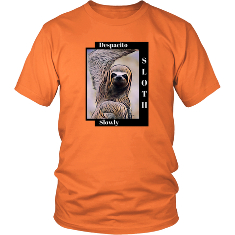 Sloth Dances Despacito - Unisex T-shirt (Multiple Colors)