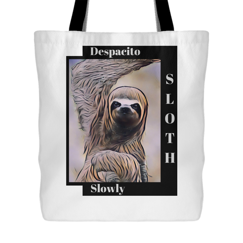 Sloth Dances Despacito - Tote Bag