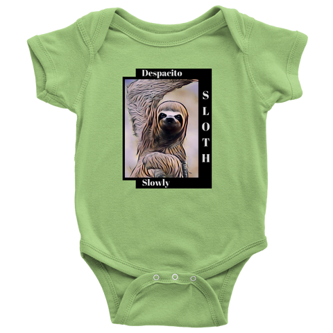 Sloth Dances Despacito - Baby Onesie