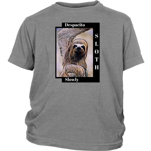 Sloth Dances Despacito - Youth T-shirt