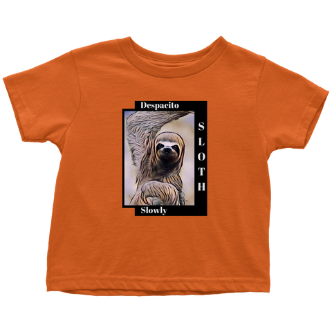 Sloth Dances Despacito - Toddler T-shirt