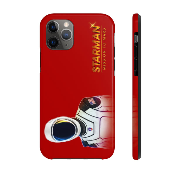 Starman iPhone Case (Red)