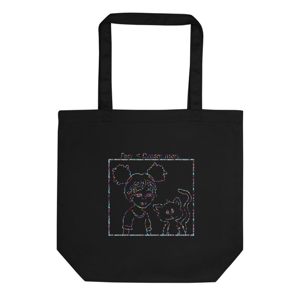 Fear Less Dream More Tote - Black