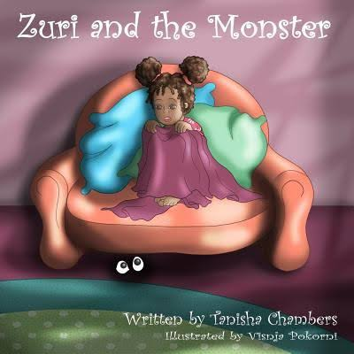 Autographed copy of Zuri and the Monster Book