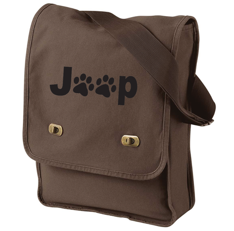 Jeep Paw Canvas Bag