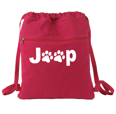 Jeep Paw Backpack