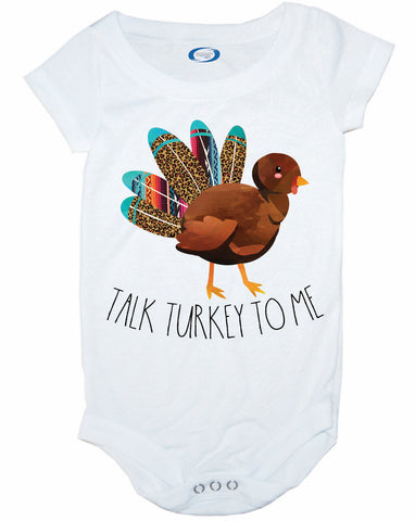 Talk Turkey To Me Bodysuit