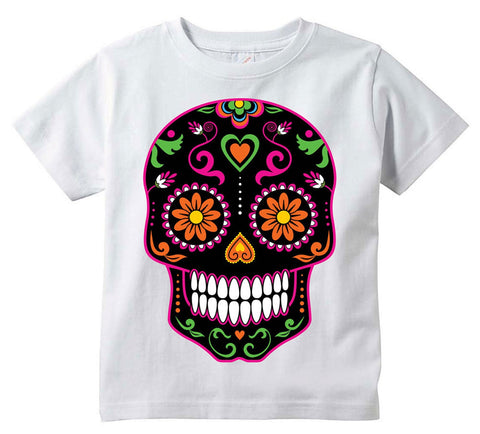 Sugar Skull Youth T-Shirt | Day Of The Dead | Calavera Shirt