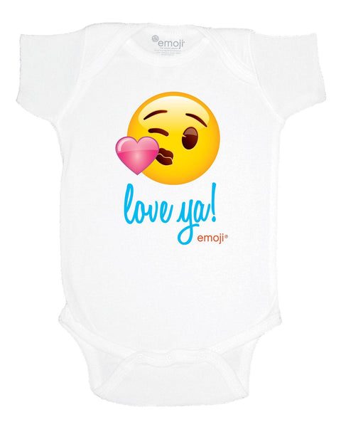 emoji® Love ya Infant Bodysuit