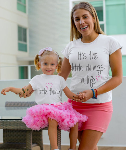 It's the Little Things in Life Matching Shirts - Mother's Day shirt Set