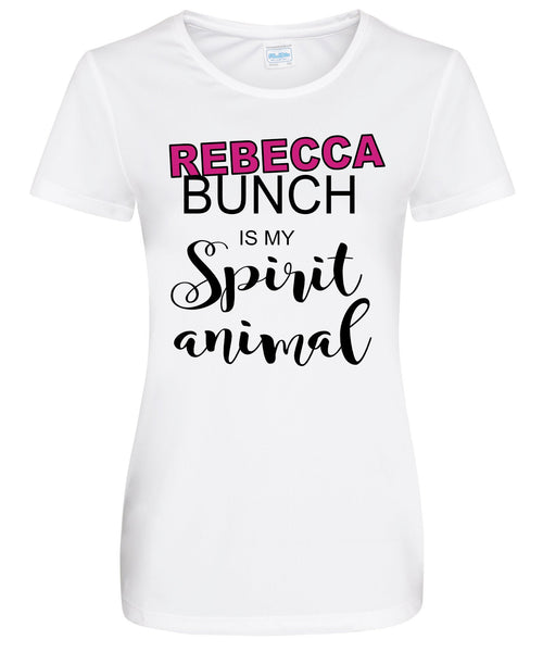 Rebecca Bunch is my Spirit Animal Ladies Shirt, Crazy Ex Girlfriend Ladies Shirt