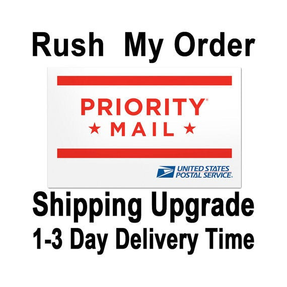 USPS Priority Mail 1-3 Business Days Shipping Upgrade  Need Help?