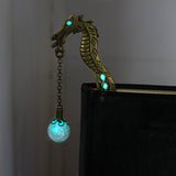 GLOWING Dragon Bookmark
